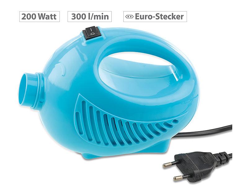 sichler vakuumpumpe elektrischer hand vakuumierer f r kleiderbeutel 200 w 300 l min. Black Bedroom Furniture Sets. Home Design Ideas