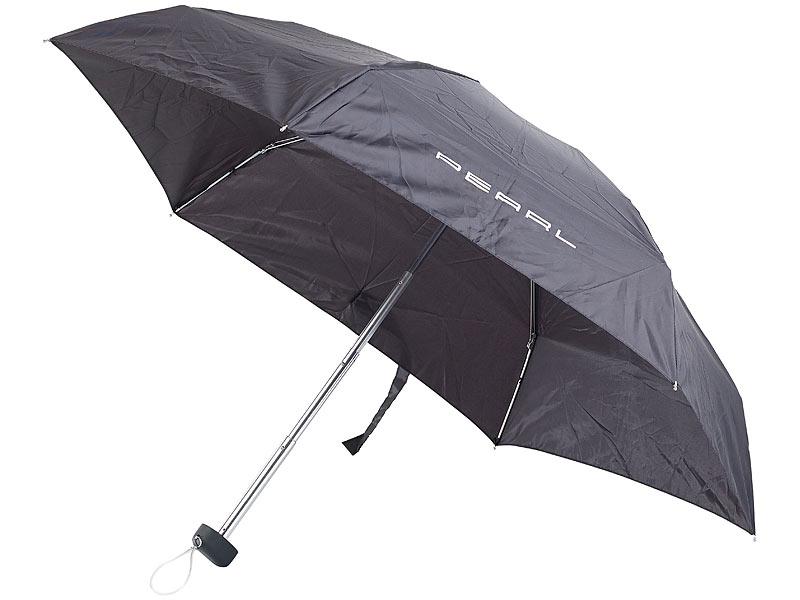 pearl miniregenschirm mit transporthülle extraleicht