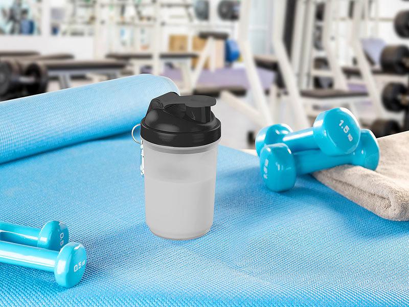 pearl sports sch ttelbecher fitness drink shaker mit mischball 500 ml bpa frei fitness. Black Bedroom Furniture Sets. Home Design Ideas