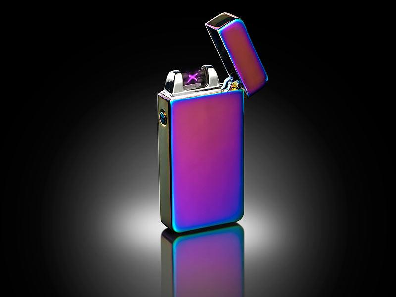 pearl elektrofeuerzeug elektronisches usb feuerzeug mit doppeltem lichtbogen akku violett. Black Bedroom Furniture Sets. Home Design Ideas