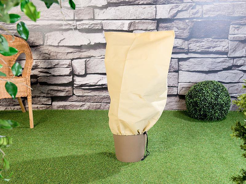 royal gardineer frostschutz k belpflanzensack als winterschutz 80 x 60 cm 70 g m. Black Bedroom Furniture Sets. Home Design Ideas
