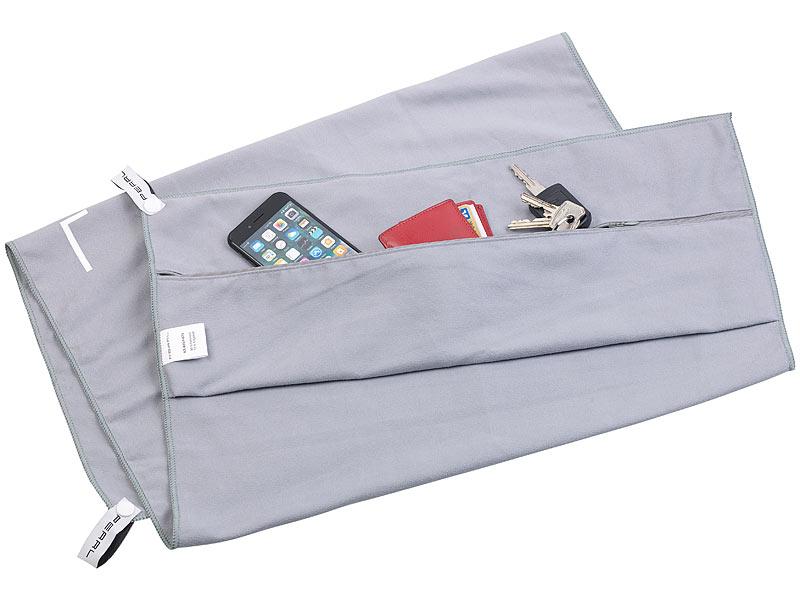 pearl sporthandtuch mikrofaser sport handtuch mit lehnen berzug und tasche 50 x 100 cm. Black Bedroom Furniture Sets. Home Design Ideas