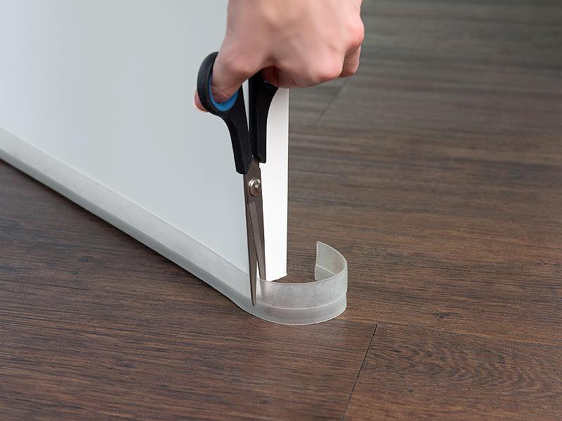 Tür Knallen Stopper infactory tür-dichtung: 8er-set transparente zugluft-stopper