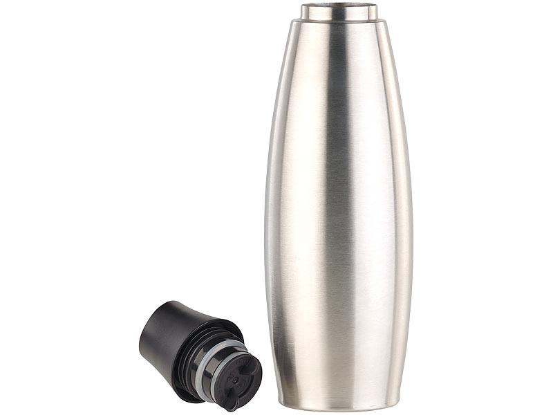 carlo milano isolier trinkflasche design thermo. Black Bedroom Furniture Sets. Home Design Ideas