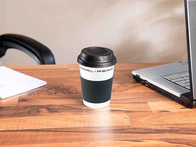Pearl Kaffebecher Coffee To Go Becher Mit Deckel 350 Ml