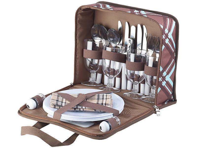 Xcase Mini Kühlschrank : Xcase plastikgeschirr: 30 teiliges picknick set für 4 personen inkl