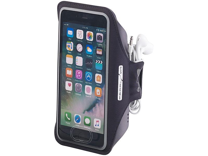 schwarz InLine® Sport Armband mit Smartphone-Tasche Sonstige