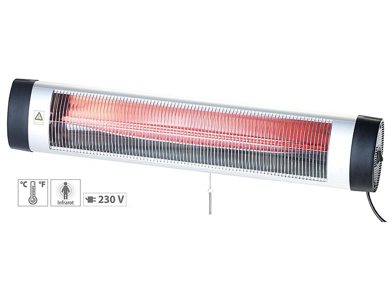 semptec terrassenstrahler ir heizstrahler mit thermostat irw rote lampe w. Black Bedroom Furniture Sets. Home Design Ideas