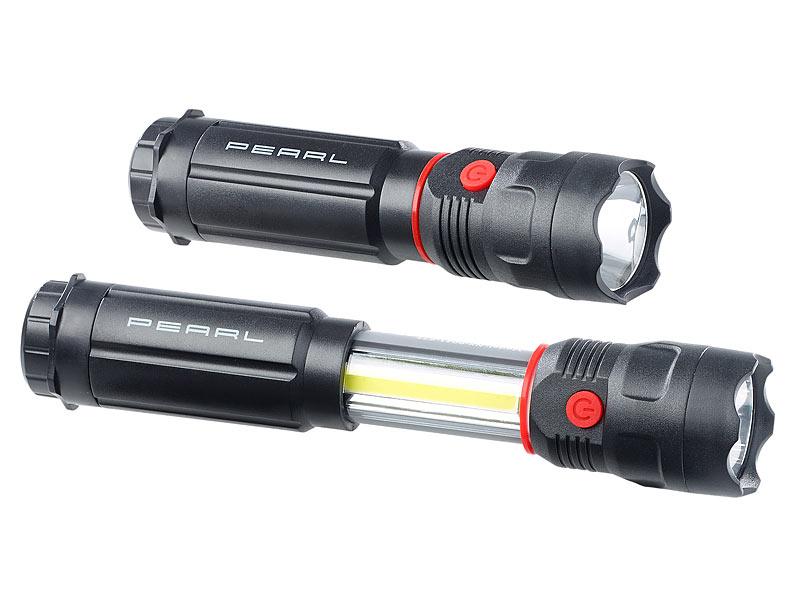 Auto KFZ Werkstatt Arbeitslampe LED Stablampe magnetisch integrierter Akku Lampe