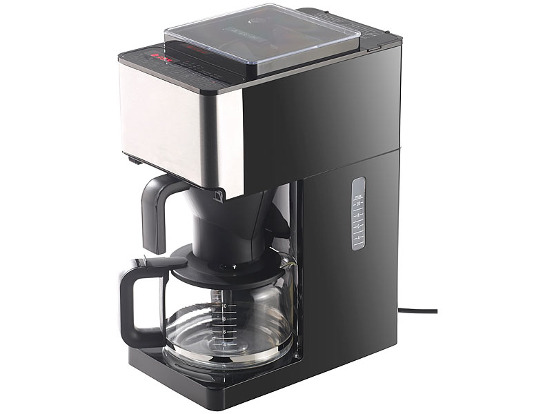 rosenstein s hne kaffeeautomaten vollautomatische filter kaffeemaschine kegelmahlwerk touch. Black Bedroom Furniture Sets. Home Design Ideas