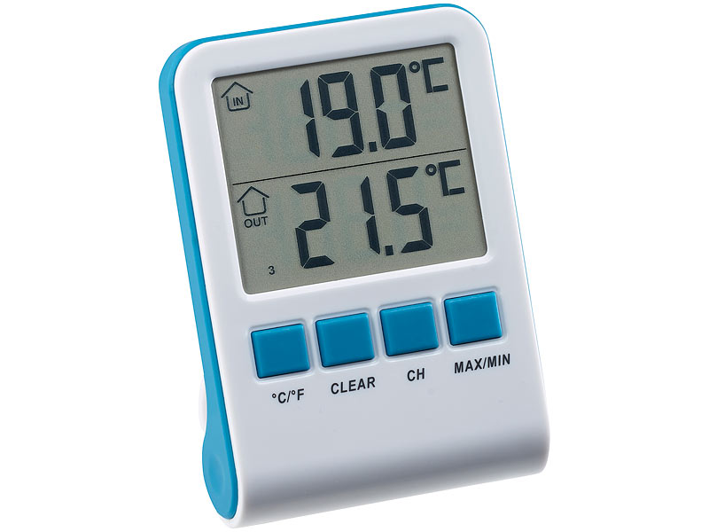 Freetec schwimmbadthermometer digitales teich und for Schwimmbadthermometer