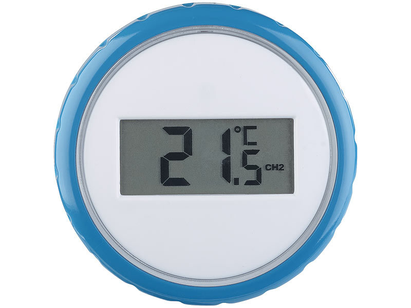 freetec thermometer wasser zus tzliches funk poolthermometer f r pt 250 wasserdicht ipx8. Black Bedroom Furniture Sets. Home Design Ideas