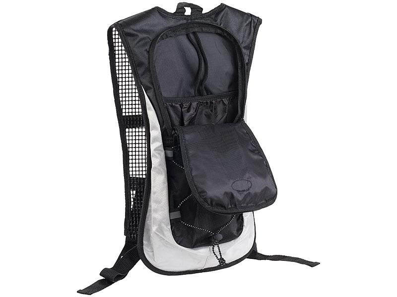 xcase fahrradrucksack ultraleichter fahrrad rucksack mit reflektoren wasserabweisend 5 l. Black Bedroom Furniture Sets. Home Design Ideas