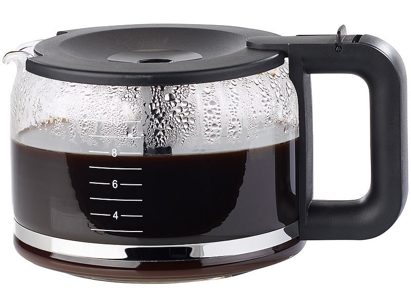 rosenstein s hne kaffee vollautomat ersatz glaskanne f r filter kaffeemaschine kf 812 f 1 25. Black Bedroom Furniture Sets. Home Design Ideas