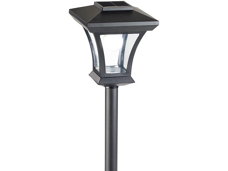 royal gardineer solar led gartenlaterne swl 20 0 18 watt. Black Bedroom Furniture Sets. Home Design Ideas