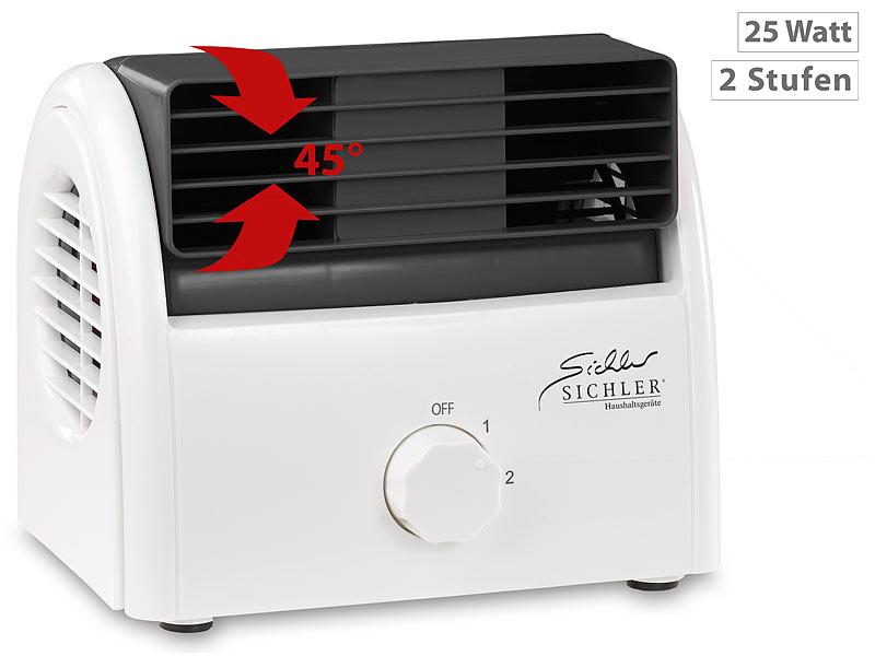 Kleiner Kühlschrank Watt : Sichler kleiner ventilator leise leiser mini tischventilator