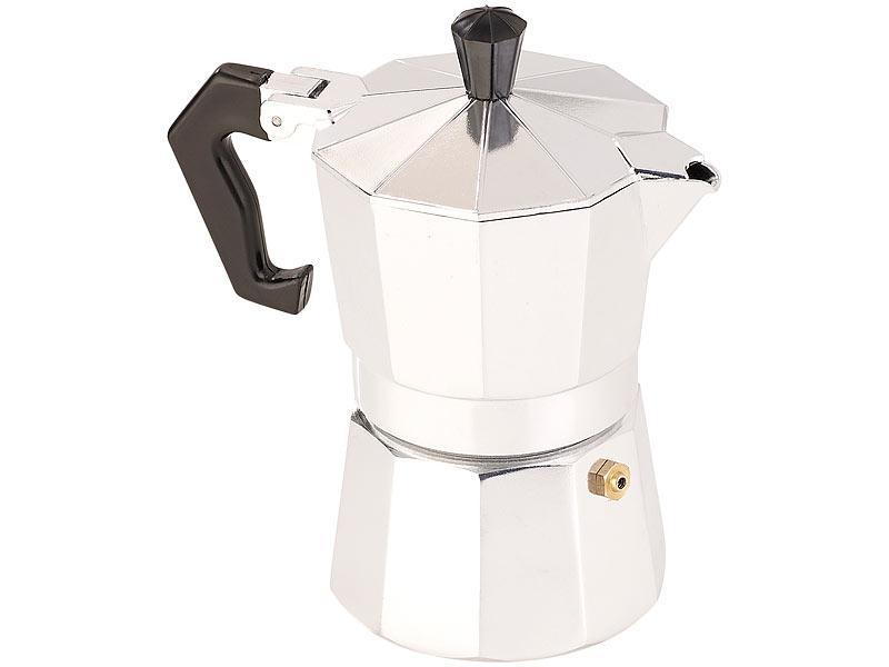cucina di modena espressokocher induktion espressokocher f r 3 tassen gas elektro. Black Bedroom Furniture Sets. Home Design Ideas