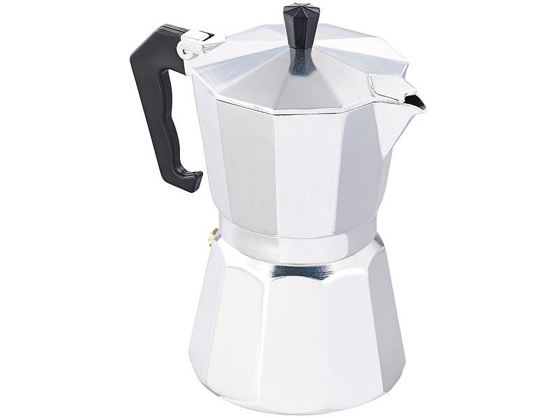 cucina di modena kaffeekocher espressokocher f r 6 tassen f r induktions herde geeignet 300. Black Bedroom Furniture Sets. Home Design Ideas
