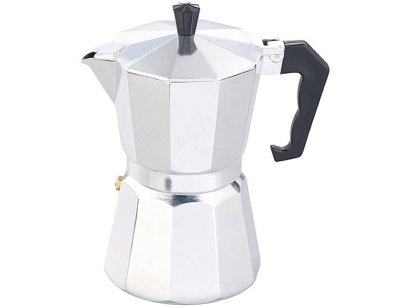 cucina di modena kaffeekocher espressokocher f r 6 tassen. Black Bedroom Furniture Sets. Home Design Ideas