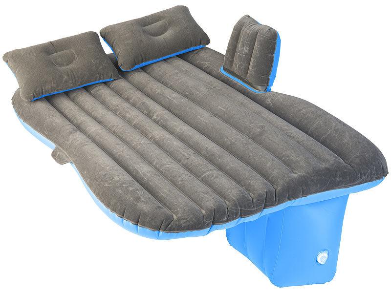 lescars auto matratze aufblasbares bett f r den auto. Black Bedroom Furniture Sets. Home Design Ideas