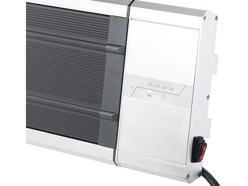 semptec infrarot heizstrahler ir dunkelheizstrahler ra 324 timer fernbedienung watt. Black Bedroom Furniture Sets. Home Design Ideas
