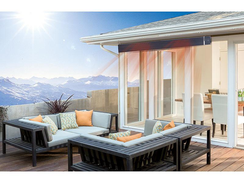 semptec dunkelstrahler profi ir dunkelheizstrahler m. Black Bedroom Furniture Sets. Home Design Ideas