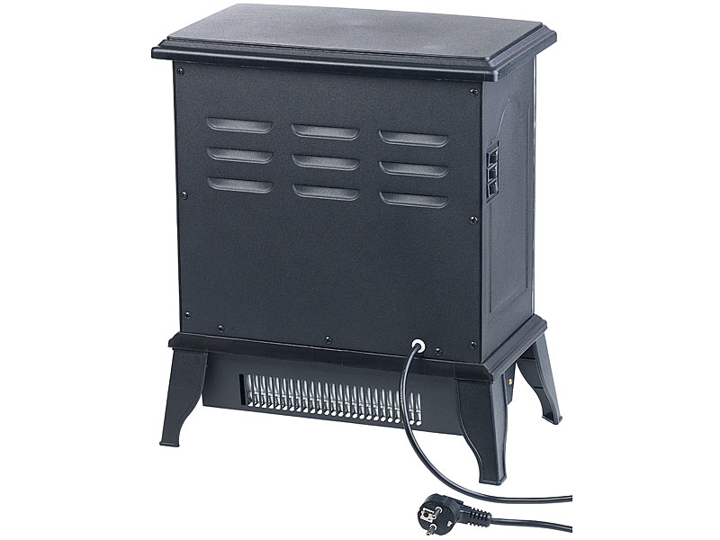 sichler elektro kaminofen elektro kamin in nostalgie. Black Bedroom Furniture Sets. Home Design Ideas