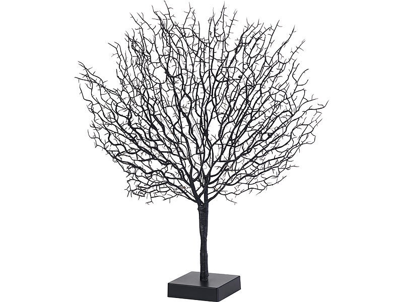 Lunartec Leuchtzweige: Moderner Lichterbaum mit 25 warmweißen LEDs ...
