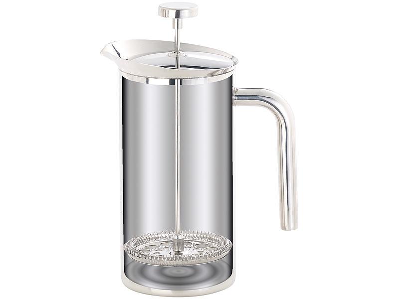 rosenstein s hne vakuum kaffeebereiter thermo kaffeebereiter french press edelstahl. Black Bedroom Furniture Sets. Home Design Ideas