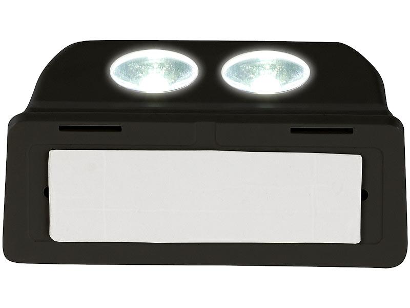 luminea led treppen lampen batterie led t rleuchte bewegungs lichtsensor 0 4 w 50 lm. Black Bedroom Furniture Sets. Home Design Ideas