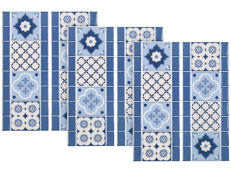 infactory fliesenfolien b der selbstklebende 3d bord re fliesenaufkleber 31 x 12 cm 3er set. Black Bedroom Furniture Sets. Home Design Ideas