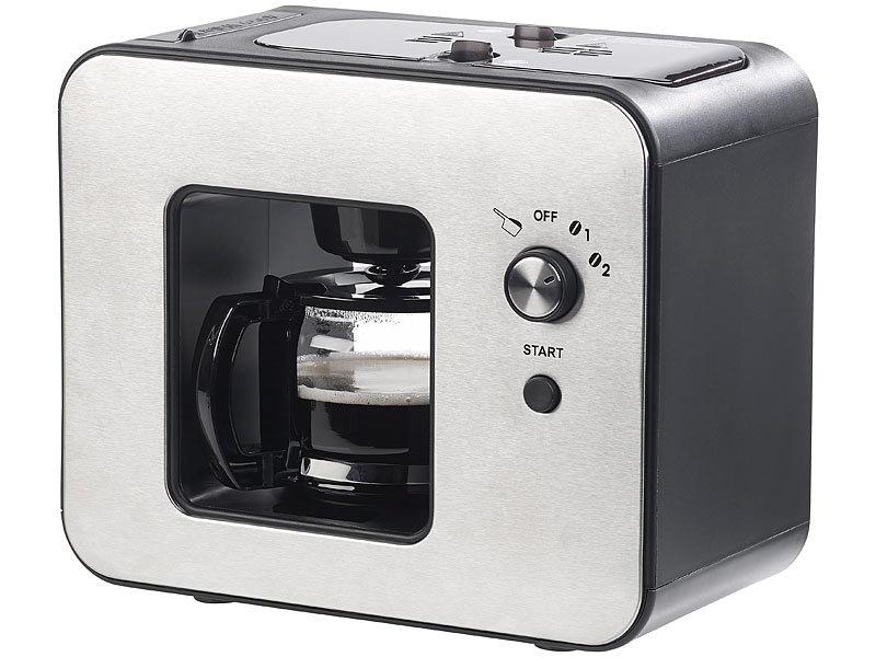 rosenstein s hne kaffeevollautomat vollautomatische design kaffeemaschine mit bohnen mahlwerk. Black Bedroom Furniture Sets. Home Design Ideas