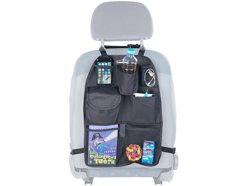 Universell Auto Organizer Rückenlehne Aufbewahrung Netz Tasche Handy Halter