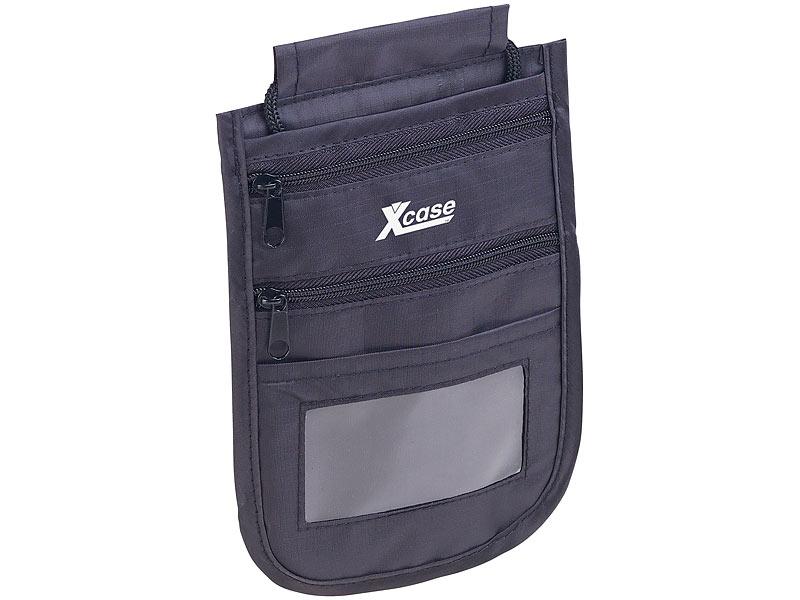 af45193c5e0ae Xcase Brusttasche  Unisex-Brustbeutel mit RFID-Schutz