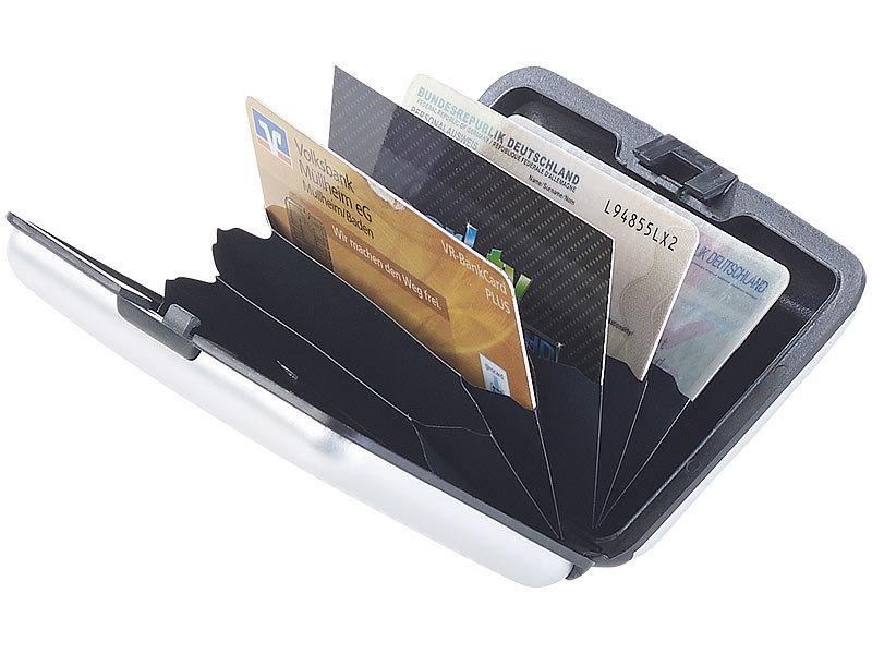 xcase ec karten schutz edles rfid kartenetui aus. Black Bedroom Furniture Sets. Home Design Ideas