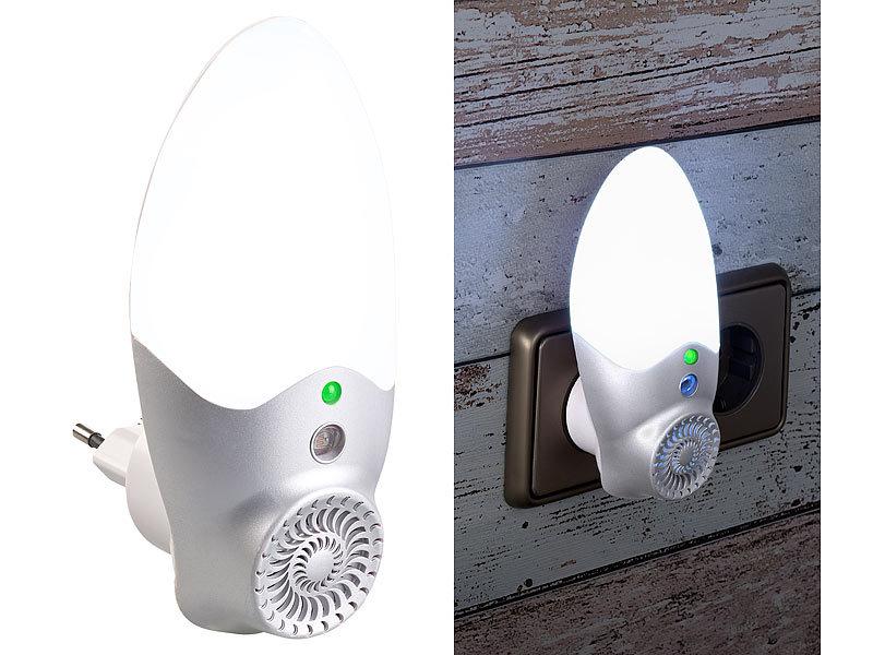 exbuster insektenstecker steckdosen m cken schreck led nachtlicht licht sensor bis 30 m. Black Bedroom Furniture Sets. Home Design Ideas