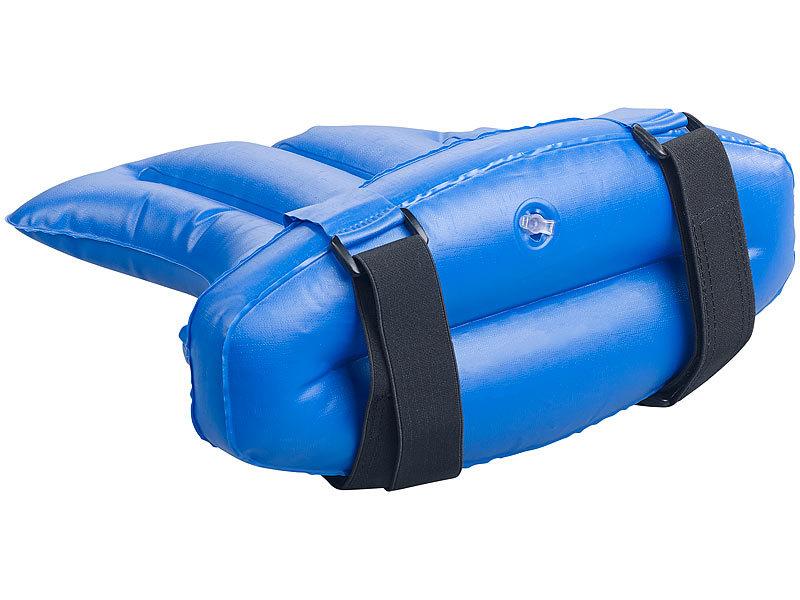 Infactory Schwimmlernhilfe: Aufblasbare Rückenflossen Schwimmhilfe Für Die  Optimale Schwimmhaltung