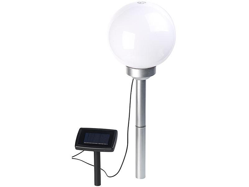 lunartec solar led leuchtkugeln solar led leuchtkugel mit. Black Bedroom Furniture Sets. Home Design Ideas