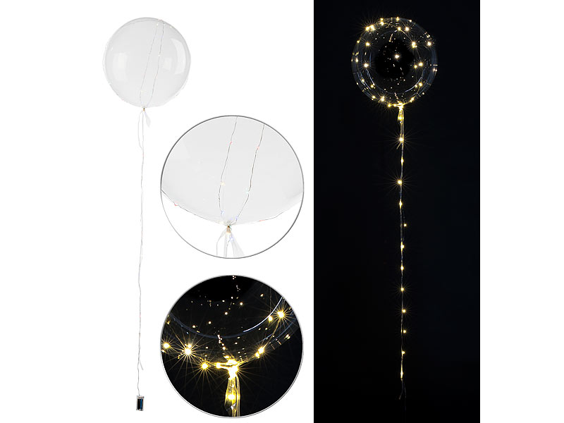 leucht luftballons ohne led