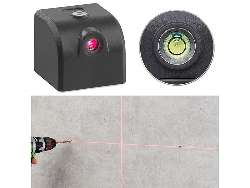 agt laser wasserwaage mini kreuzlinienlaser mit wasserwaage akku und usb stromversorgung. Black Bedroom Furniture Sets. Home Design Ideas