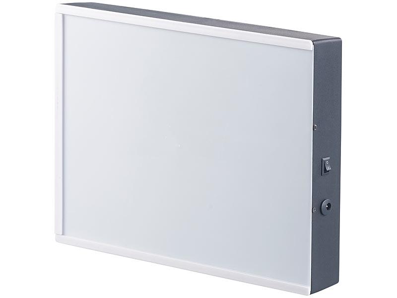 infactory Bilderrahmen beleuchtet: LED-Leuchtkasten für individuelle ...