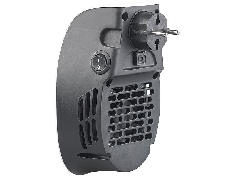 sichler heizstrahler steckdosen steckdosen keramik heizl fter mit thermostat timer display. Black Bedroom Furniture Sets. Home Design Ideas