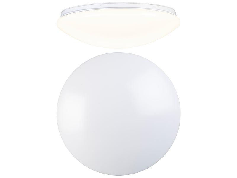 Luminea Wandlampen: LED-Wand- & Deckenleuchte mit 1440 Lumen ...