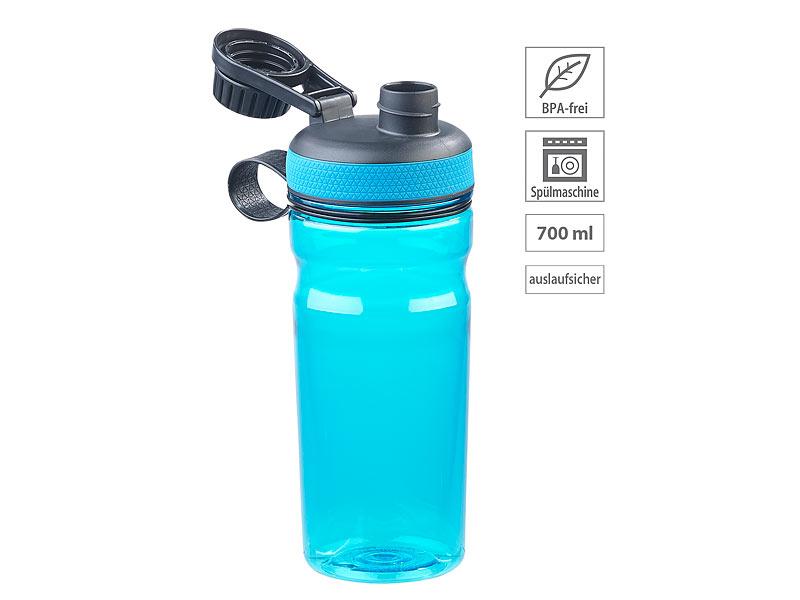 Trinkflasche 500ml Edelstahl Fitness Sport Outdoor Flasche Fahrradflasche