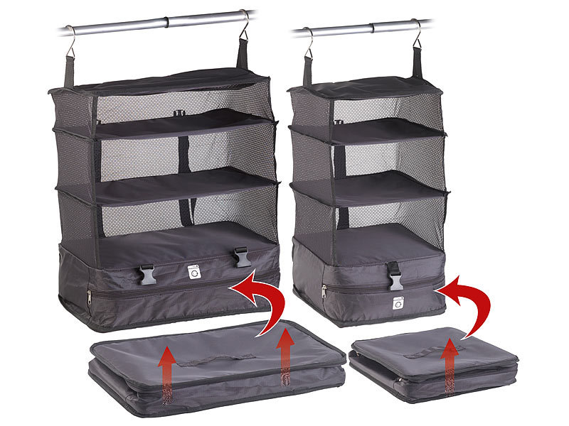xcase koffer organizer taschen xl und xxl koffer. Black Bedroom Furniture Sets. Home Design Ideas