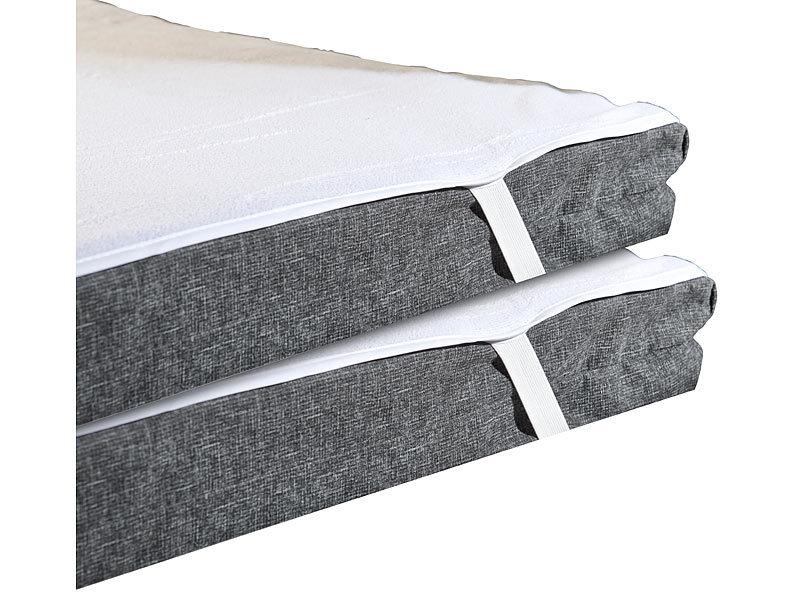 wilson gabor matratzenschutz 2er set wasserundurchl ssige matratzen auflage kochfest 90 x 200. Black Bedroom Furniture Sets. Home Design Ideas
