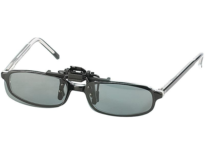 Speeron Brillenaufsatz: Sonnenbrillen-Clip \