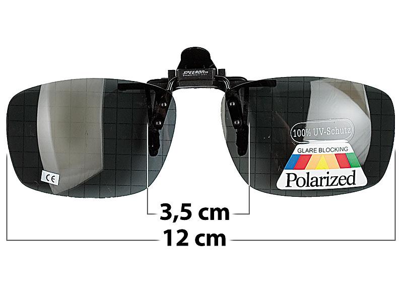 Speeron Brillenclip: Sonnenbrillen Clip