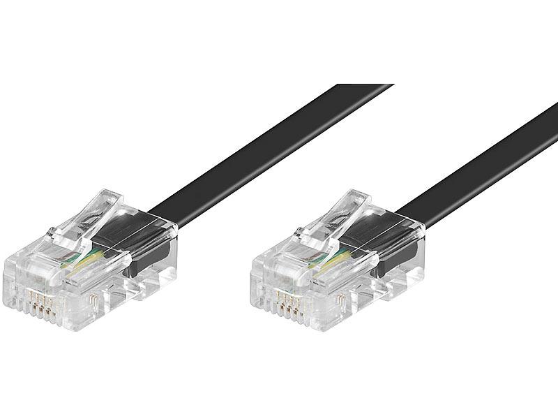 goobay fax kabel isdn s0 kabel 10 m telefonkabel. Black Bedroom Furniture Sets. Home Design Ideas