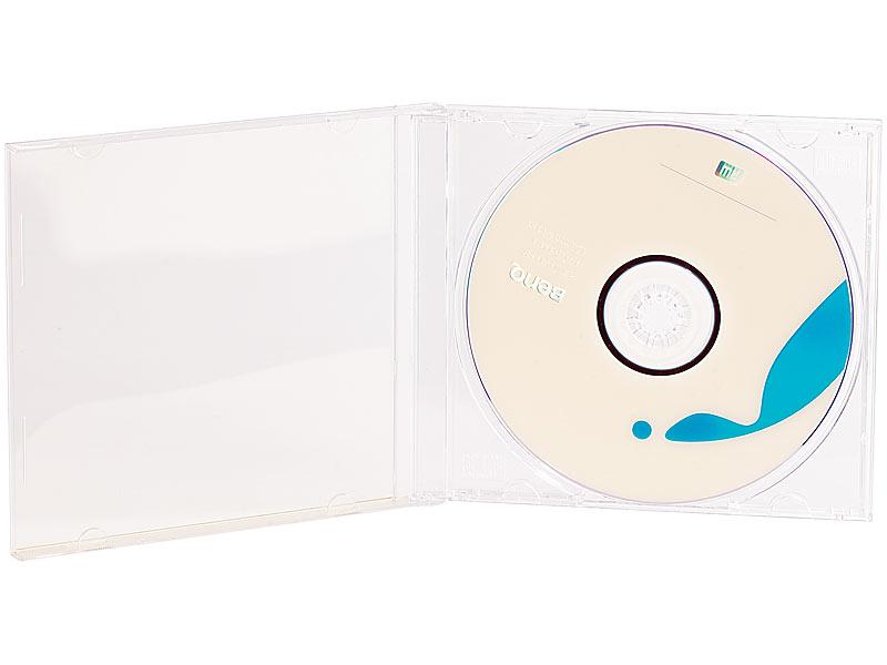 pearl cd tasche cd jewel boxen im 10er set klares tray h lle f r doppel cd dopple dvd. Black Bedroom Furniture Sets. Home Design Ideas